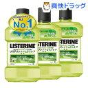 薬用リステリン ナチュラルケア(1L*3コセット)【LISTERINE(リステリン)】[マウスウォッシュ 洗口液 デンタルリンス口…