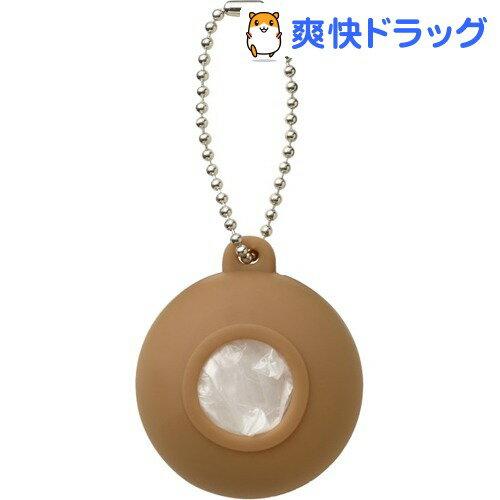 プラスディー(+d) レジ袋ホルダー ポケット ブラウン DA-1020-BR(1コ入)【プラスディー(+d)】