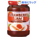 明治屋 ファミリータイプ いちごジャム(390g)