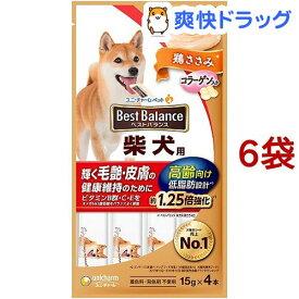 ベストバランス 犬 おやつ 柴犬用 高齢向け(60g*6袋セット)【ベストバランス】