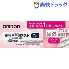【第1類医薬品】クリアブルー 排卵日予測テスト CB-407-N2(7回用)【オムロン】