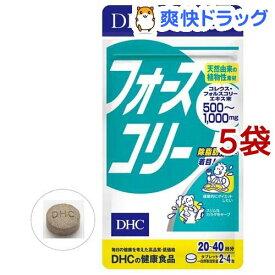 DHC フォースコリー 20日分(80粒*5袋セット)【DHC サプリメント】