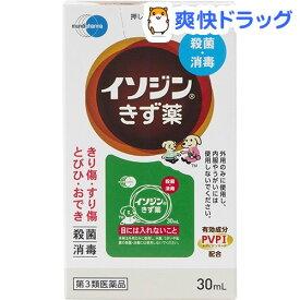 【第3類医薬品】イソジンきず薬(30mL)【イソジン】
