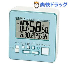 カシオ 電波置時計 パールブルー DQD-805J-2JF(1コ入)