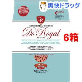 ドゥ・ロイヤル シニア(600g*6コセット)【ドゥ・ロイヤル】[ドッグフード]