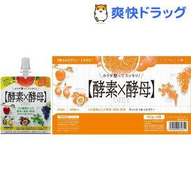 イースト&エンザイム ダイエットゼリー グレープフルーツ味(150g*6袋入)【メタボリック】