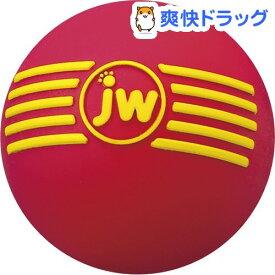 JWペットカンパニー アイスクィークボール M レッド(1コ入)【JWペットカンパニー】
