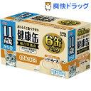 11歳からの健康缶 6P しっとりムース ささみとまぐろ(1セット)【健康缶シリーズ】
