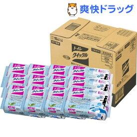 トイレクイックル トイレ掃除シート ジャンボパック 詰め替え 梱販売(20枚*12個入)【クイックル】[つめかえ 詰替え]