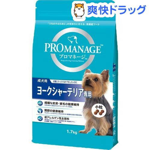 プロマネージ 成犬用 ヨークシャーテリア専用(1.7kg)【d_pro】【プロマネージ】