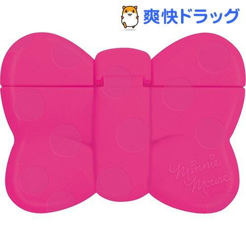 ミニーマウス 携帯用ウェットティッシュふた チェリーピンク(1コ入)