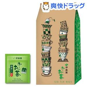 伊藤園 エコティーバッグ おーいお茶 緑茶 (抹茶入り)(1.8g*120袋入)【お〜いお茶】