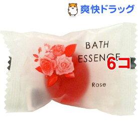 パトモス バスエッセンス1P ローズ(8g*6コセット)【パトモス】[入浴剤]