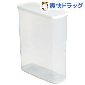 乾物ストッカー6.0 ホワイト(1コ入)【イノマタ化学】