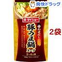 ダイショー 豚うま鍋スープ(750g*2コセット)