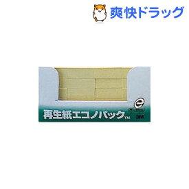 ポスト・イット 再生紙 エコノパック ふせん イエロー 5001-Y(100枚*20パッド)
