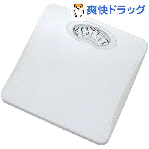 ドリテック アナログ体重計 シェイプス ホワイト BS-302WT(1台)【ドリテック(dretec)】