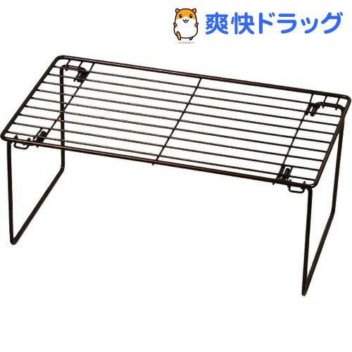 Style+ 積み重ね棚 M 足折れタイプ LD-16(1台)【パール金属】