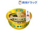 マルちゃん正麺 カップ 濃厚とろ豚骨(1コ入)【マルちゃん正麺】