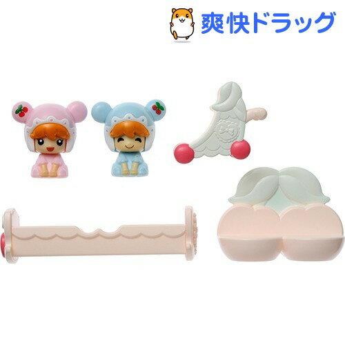 こえだちゃん ふたごの赤ちゃんとベビールームセット(1セット)【こえだちゃん】