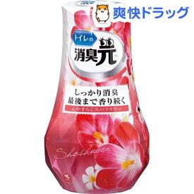 トイレの消臭元 心やすらぐスパフラワー 芳香消臭剤 トイレ用(400ml)【消臭元】