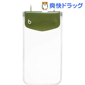 ビキット スマートフォン用ファッション防水ポーチ カジュアル カーキ BK5767(1コ入)【ビキット(bikit)】
