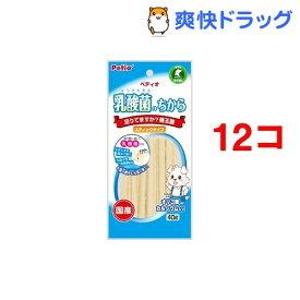 ペティオ 乳酸菌のちから スティックタイプ(40g*12コセット)【ペティオ(Petio)】