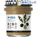 アヲハタ 塗るテリーヌ 黒と緑のオリーブ(73g)【アヲハタ】