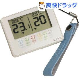 GRUS 温湿度計 ホワイト GRS102-01(1コ入)【GRUS(グルス)】