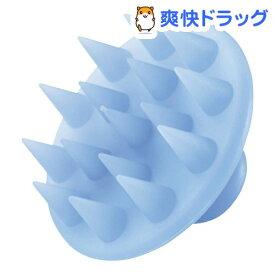 シリコンシャンプーブラシ ブルー 32709(1コ入)