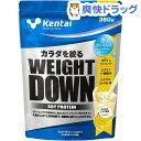 ケンタイ ウエイトダウン SOYプロテイン バナナ(350g)【kentai(ケンタイ)】