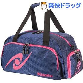 ニッタク 卓球バッグ ハニカムゴーウェイ ネイビー*ピンク(1コ入)【ニッタク】