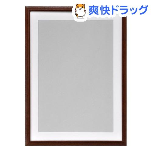 ハクバ 木製額 FW-3 ブラウン A3ノビ FW-3-BWA3N(1コ入)【ハクバ(HAKUBA)】