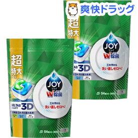 ジョイ ジェルタブ 食洗機用洗剤(54コ入り*2コセット)【cga07】【stkt10】【ジョイ(Joy)】