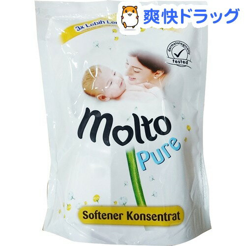 モルト 柔軟剤 ピュア リフィル(1.6L)【モルト(molto)】