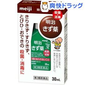 【第3類医薬品】明治きず薬(30ml)