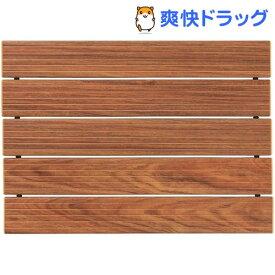 ハチ クールアルミすのこ 木調 M(1枚入)【ハチ(hachi)】