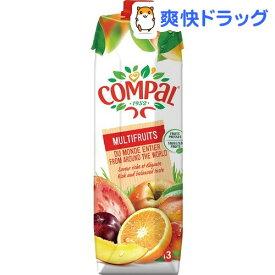 コンパル マルチフルーツ 加糖 果汁50%(1000ml)