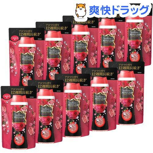 レノアハピネス アロマジュエル ダイアモンドフローラルの香り 詰替え 香り付け専用剤(455mL*10コセット)【レノアハピネス アロマジュエル】