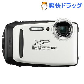 富士フイルム デジタルカメラ FinePix XP-130WH ホワイト(1台)【ファインピックス(FinePix)】