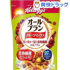 ケロッグ オールブラン フルーツミックス 袋(210g)【オールブラン】