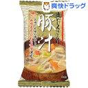チョーコー醤油 フリーズドライ 具だくさん豚汁(15.7g)