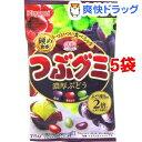 春日井製菓 つぶグミ 濃厚ぶどう(75g*5袋セット)【つぶグミ】