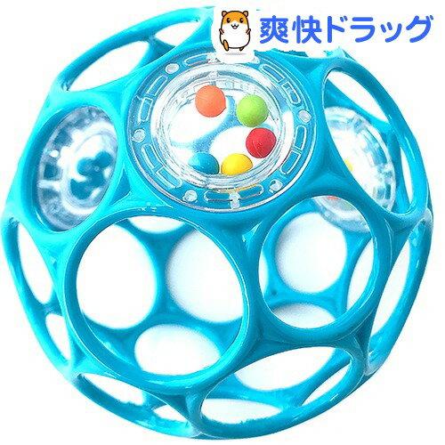 【オススメ】オーボール ラトル・ライトブルー(1コ入)【オーボール】