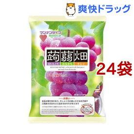 蒟蒻畑 ぶどう味(25g*12コ入*24袋セット)【蒟蒻畑】
