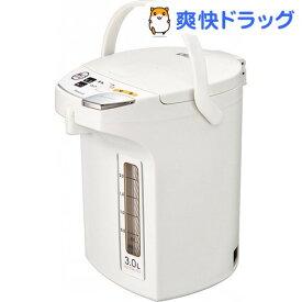 電動給湯ポット 3.0L WMJ-30 W ホワイト(1台)