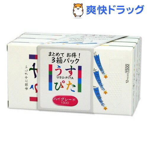 コンドーム/ジャパンメディカル うすぴた ハイグレード(3箱パック(各12コ入*3箱))【うすぴた】