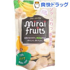 ミライフルーツ バナナ(12g)