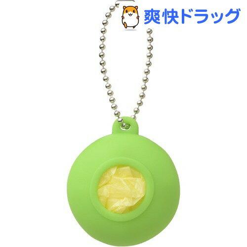 プラスディー(+d) レジ袋ホルダー ポケット グリーン DA-1020-GR(1コ入)【プラスディー(+d)】