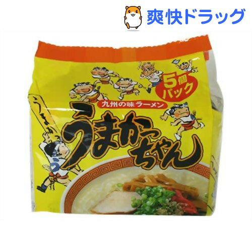 うまかっちゃん(5食入)[ラーメン ハウス インスタント]